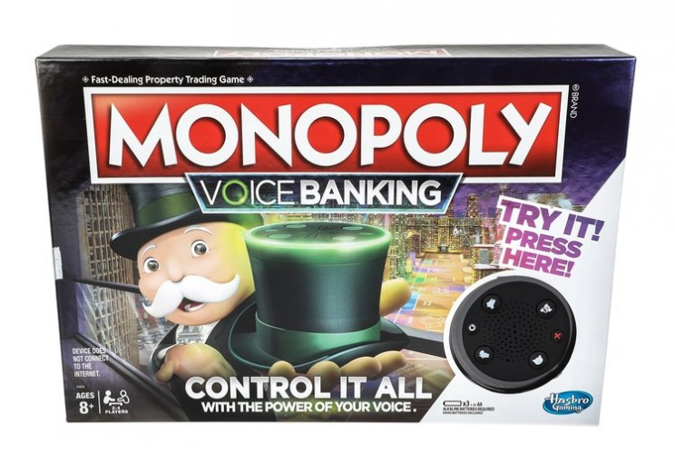 voice activated banking monopoly