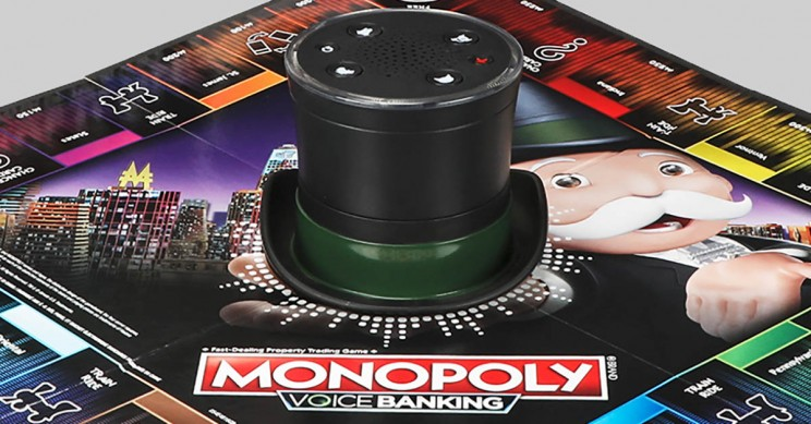 Cheating At Monopoly Is Now Officially Over Thanks To Monopoly Voice Banking
