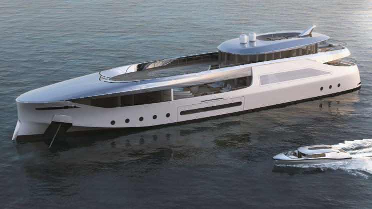 A New Electric Superyacht Concept Takes Star Wars to a World of Zero Emissions