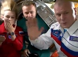 Russian Film Crew Successfully Returns to Earth With the Footage