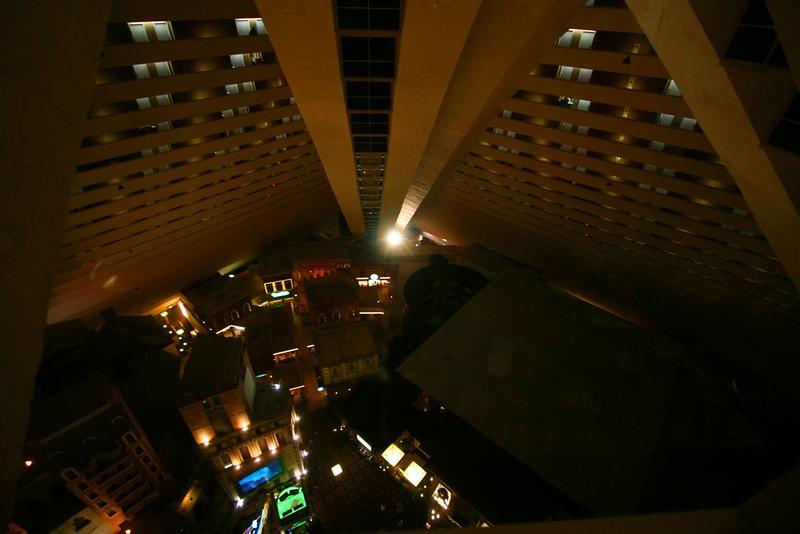 strange elevators Luxor