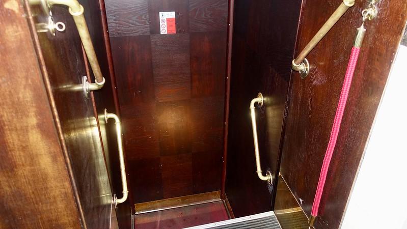 strange elevator peternoster