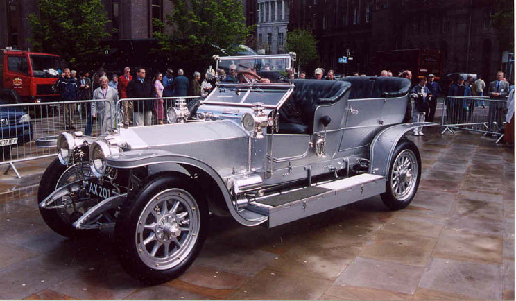 roll royce silver ghost