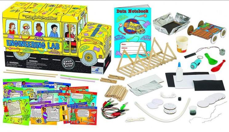 stem kits schoolbus