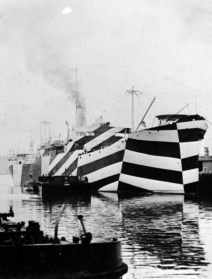 dazzle camo ships