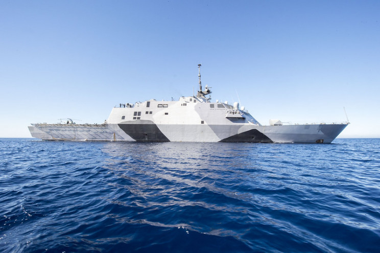 dazzle camo USS freedom