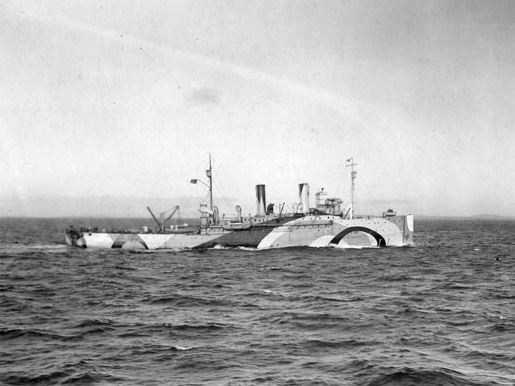 dazzle camo USS Shawmut