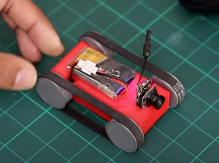 diy mini tank battery