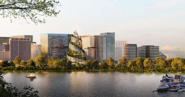 Amazon's New HQ2 Design Focuses on Sustainability