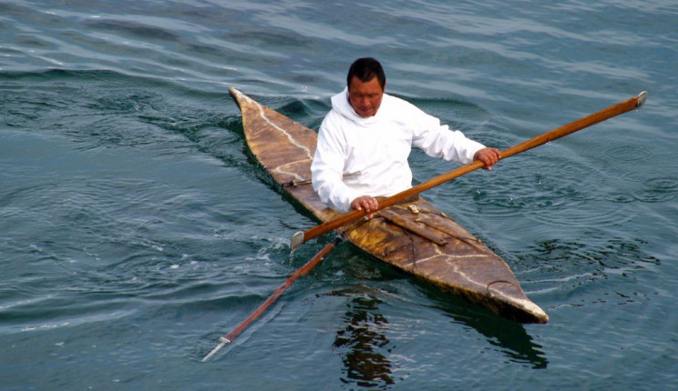 inuit inventions kayak