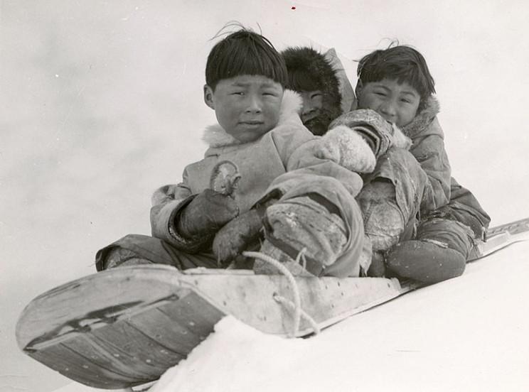 inuit inventions toboggan