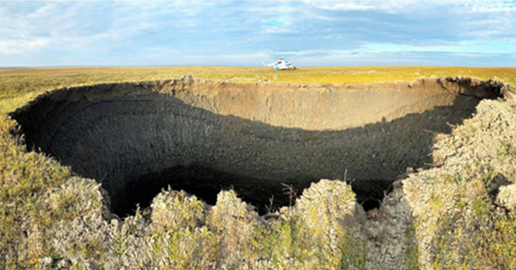 Study Identifies Why Mysterious Craters Appear in Siberian Tundra