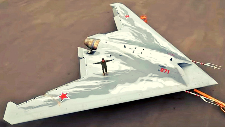 Russia's S-70 Unmanned Combat Craft Is Nearing the Prototype Stage