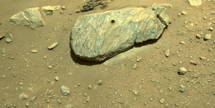 NASA's Perseverance Rover Has Scooped Up Its First Sample of Mars