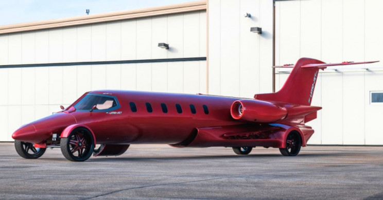 Private Jet Transformed into a Seriously Cool Limo-Jet Is Going on Sale