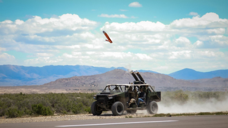 US Army Trials Launching Drones From Ultra-Light Vehicles