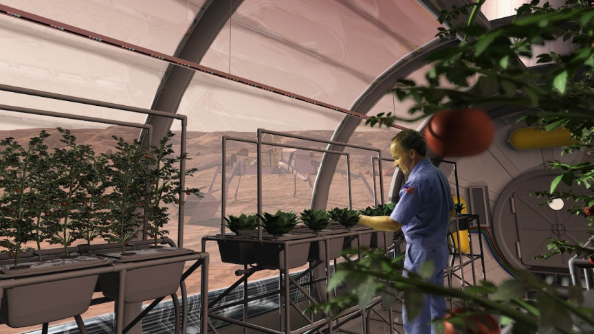 5 Ways We Can Grow Food for Future Space Colonies - Interesting Engineering