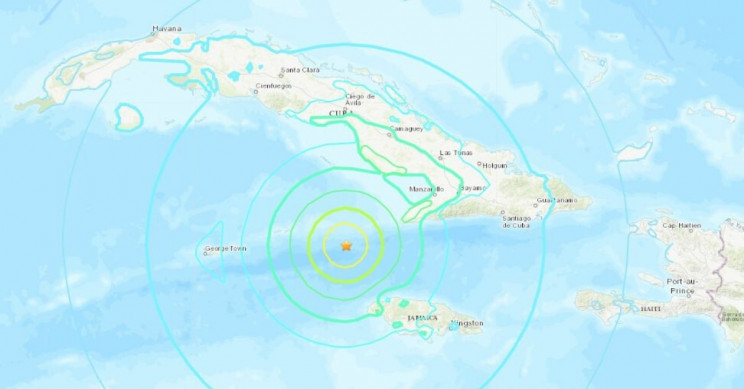 Caribbean Earthquake of 7.7 Felt All the Way in Florida, Offices Had to be Evacuated