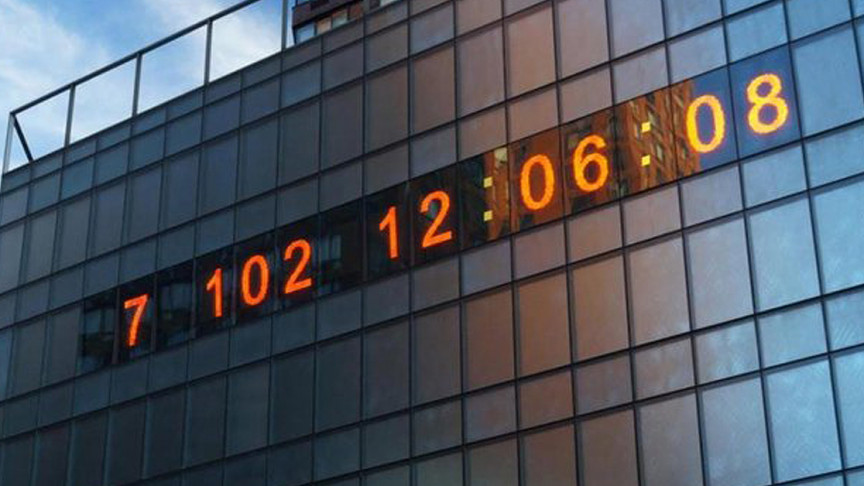 Clock Tells the Time Left for Climate Change 'Deadline' | IE