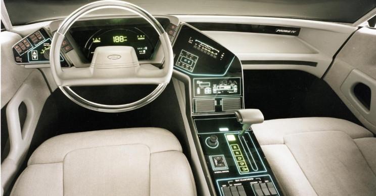 1983 Ford Probe IV concept car interior neg CN34745-4