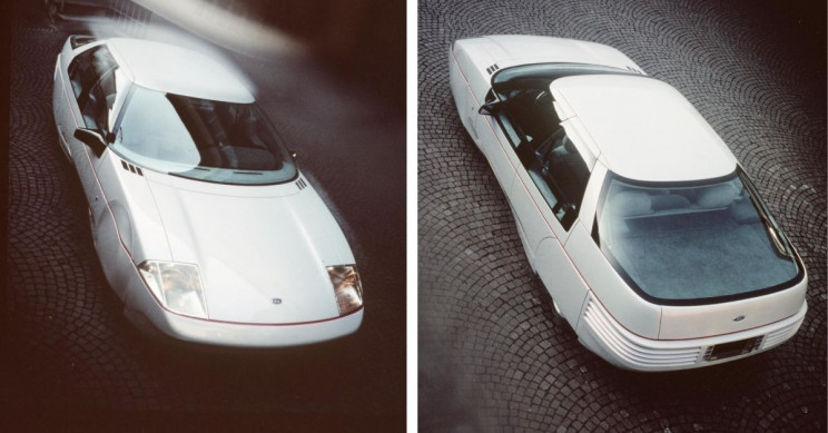 1983 Ford Probe IV concept car negs