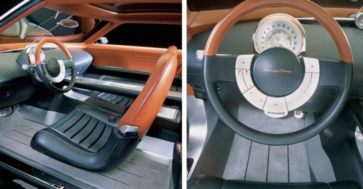 2001 Ford Forty-Nine Concept Car Interior