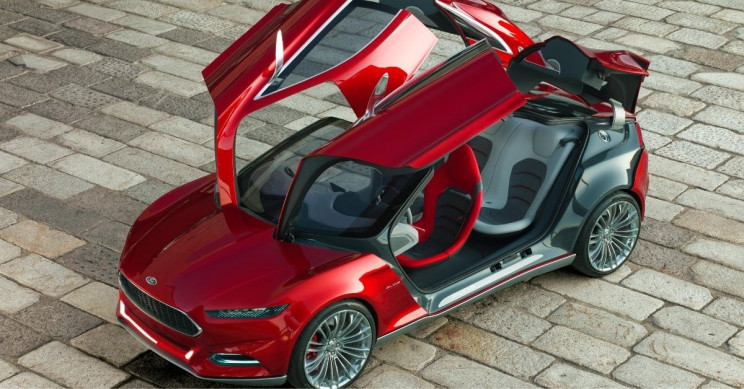 Ford Evos Concept Doors Ajar