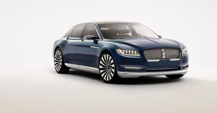 Ford Lincoln Continental Concept Car