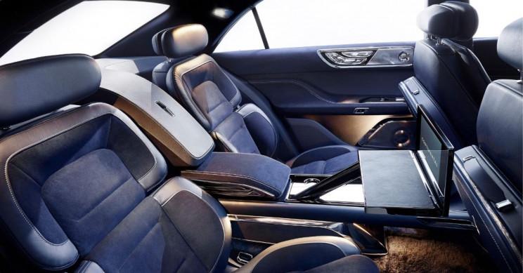 Lincoln Continental Concept Car Interior