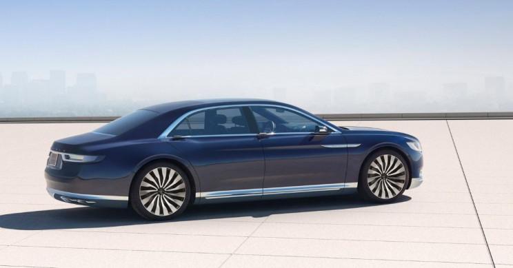Lincoln Continental Concept Car Profile