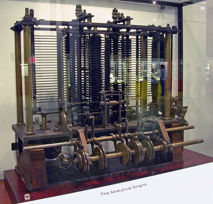 industrial revolution britain babbage engine