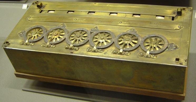 Pascal's Calculator Pascaline