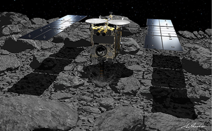 JAXA's Hayabusa2 Successfully Completes Second Risky Landing on Asteroid