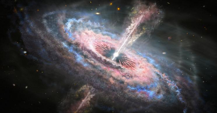 Quasar Tsunamis Turning Their Own Galaxies to Smithereens