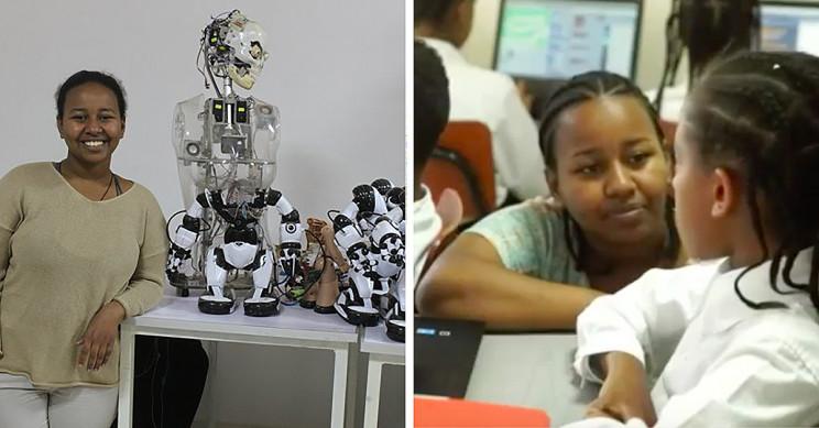 Meet the 21-Year-Old Tech Genius Betelhem Dessie Coding at Ethiopia's First AI Lab