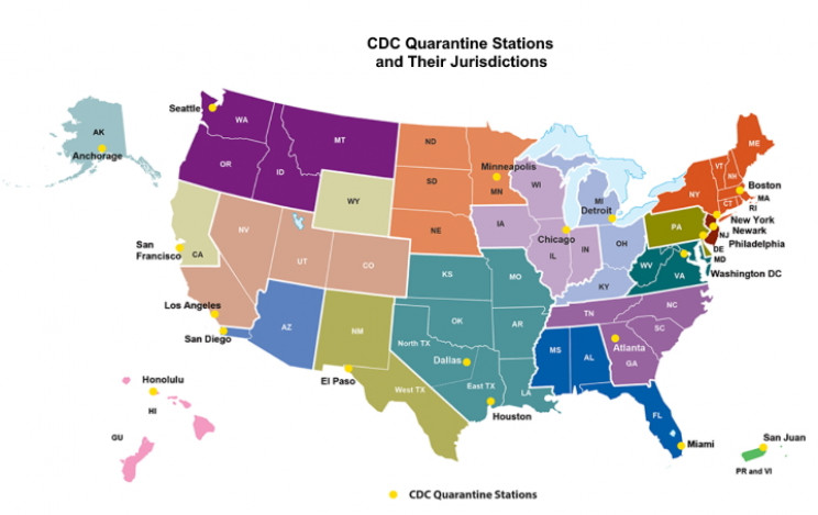 CDC Quarantine Stations
