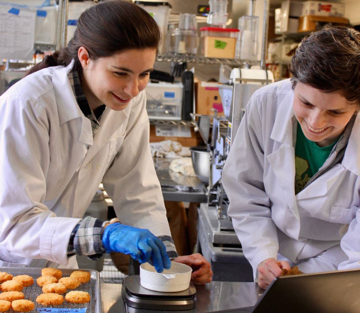 (L to R) Colleen Deyo, Food Scientist, Christie Lagally, CEO/Founder