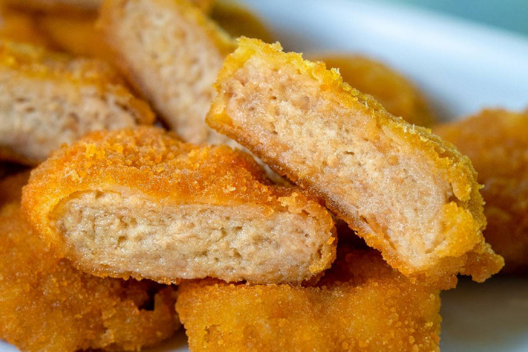 Plat-based nuggets