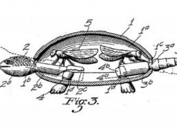 In 1926 Someone Patented a Turtle Toy Operated By Houseflies Buzzing Inside