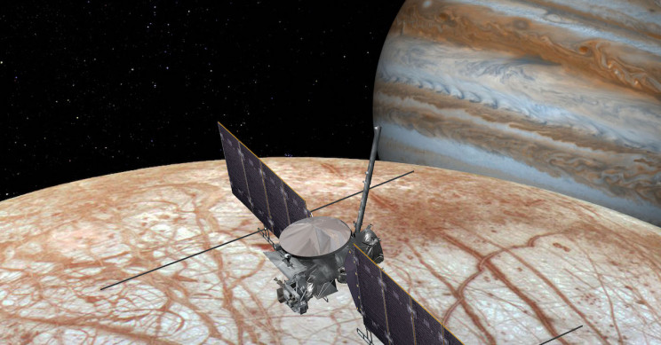 NASA Confirms Life-Searching Mission to Jupiter's Icy Moon, Europa