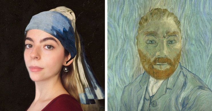 Google's New Art Filter Turns You Into a Live Artwork