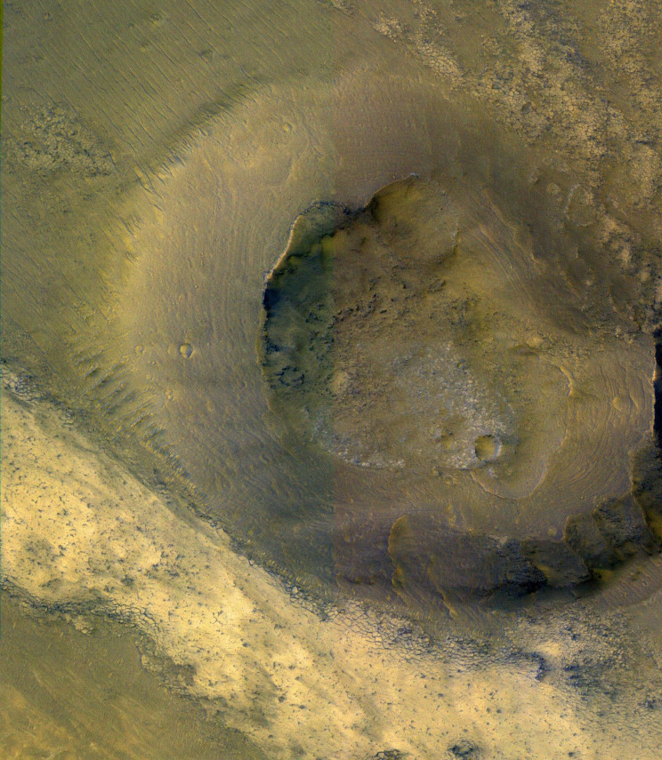 "Mars ""Lava Flows"" Mystery Solved by Scientists"