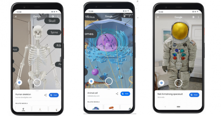 Google AR Lets You Bring 3D Objects, Animals, and Even Astronauts into Your Space
