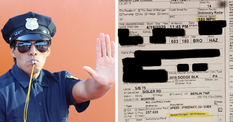 Ohio Man Pulled Over for Doing 290 Kph on Near-Empty Highway by Michigan State Police