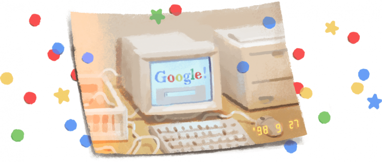 Happy 21st Birthday, Google!