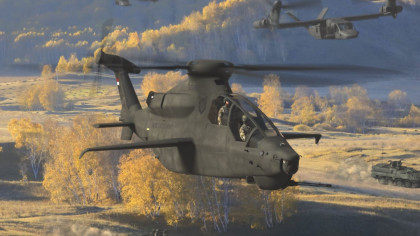 Bell 360 Invictus Is Set To Be the Army's New Attack Reconnaissance Chopper