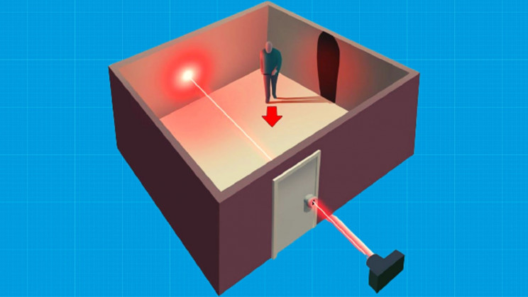 New Laser Shot Through Your Keyhole Can Expose Everything in Your Room
