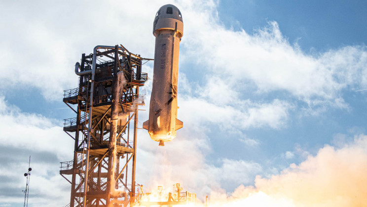 Why Are People Obsessed With the Shape of Jeff Bezos' Rocket?