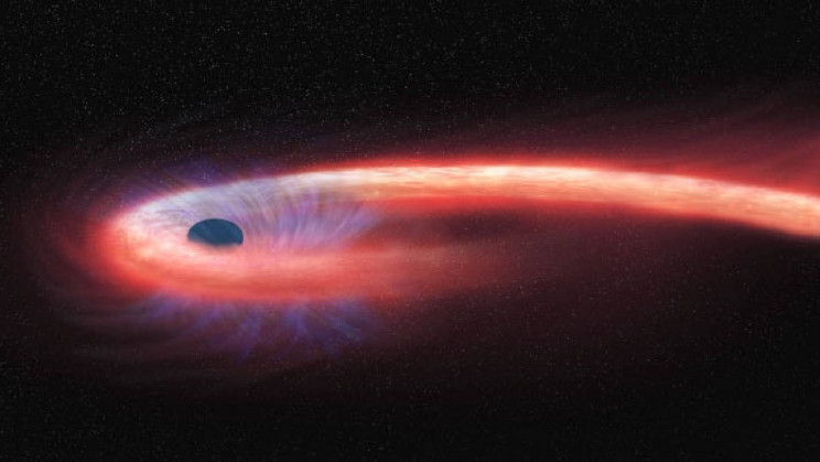 Massive Black Hole Spotted Killing Star By 'Spaghettifying' It
