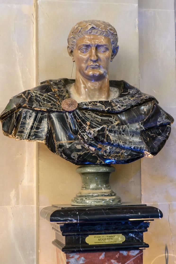 wealthiest people ever Augustus
